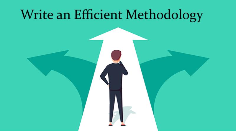 Write an Efficient Methodology