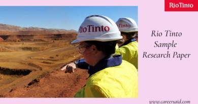 Rio Tinto Research Paper
